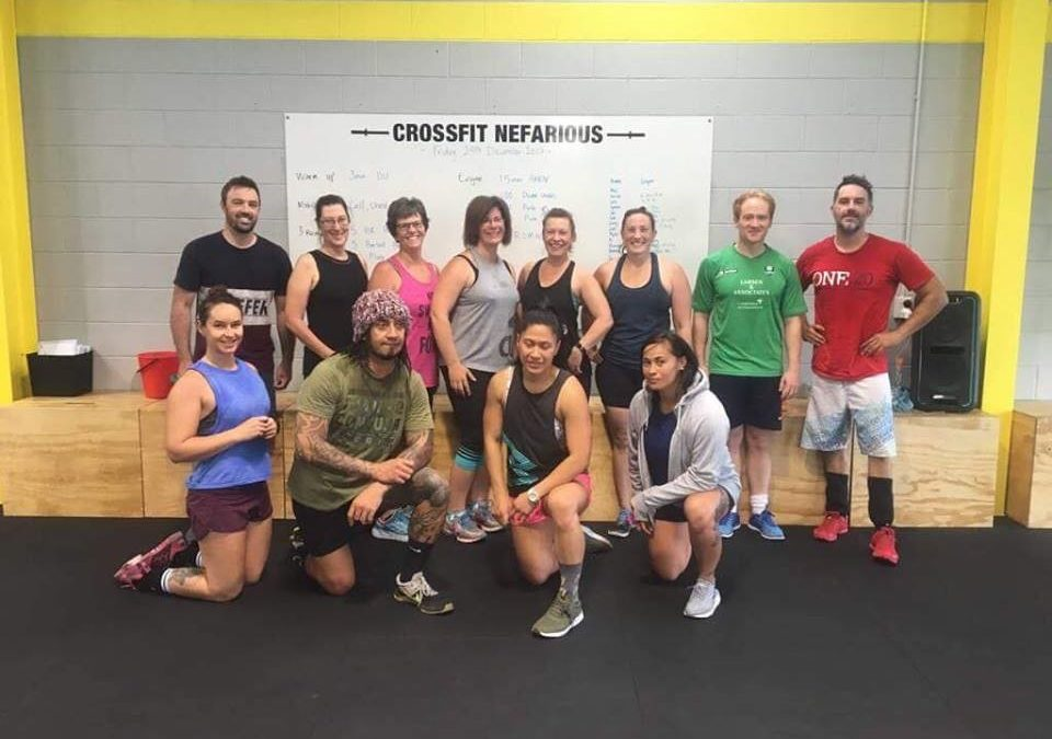 CrossFit Nefarious is a community of like minded people