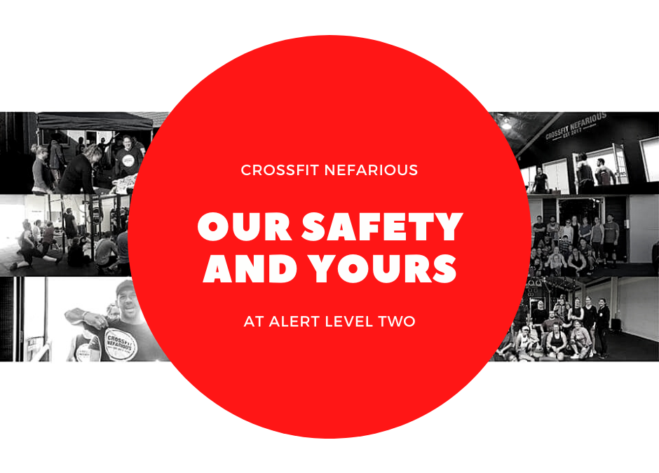 REOPENING CROSSFIT NEFARIOUS POST ISO
